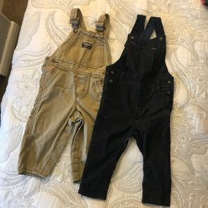 Pair of Adorable Baby Overalls